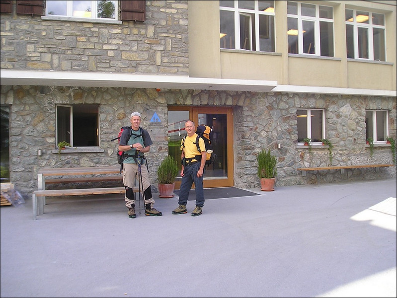youth hostel, Steinmatten , Zermatt (Wallis 2004)