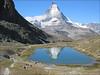 Zermatt - Gornergratbahn - Rotenboden 2815m. - Monte Rosa hutte 2802m. (Wallis 2004, Riffelsee 2757m.)