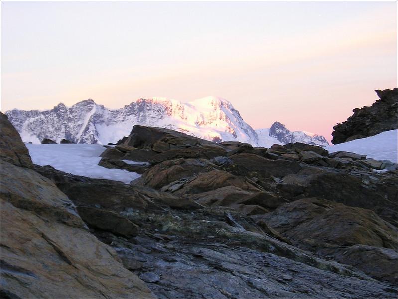 Breithorn and Klein Matterhorn (Wallis 2004)