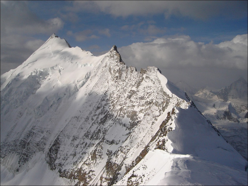 the Weisshorn 4505m. (Wallis 2005  Zinal)