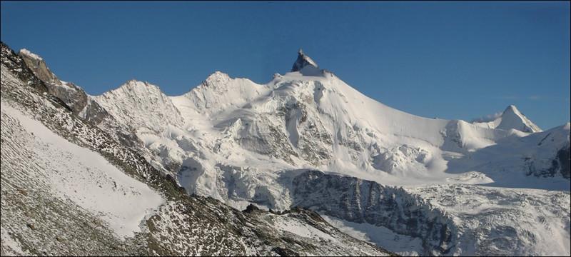Zinalrothorn 4221m. and Ober Gabelhorn 4063m. (Wallis 2005  Zinal)