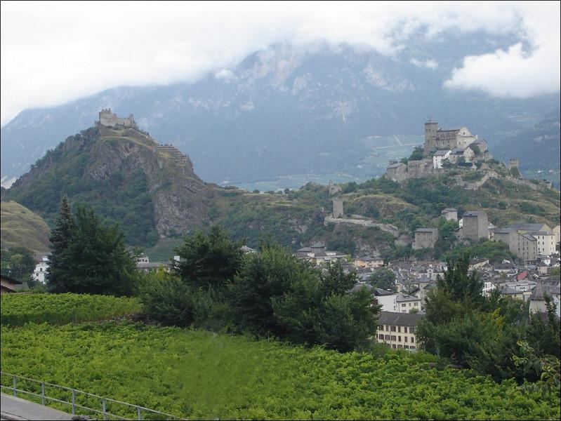 Castle of Sion, Rhone Valley (Wallis 2005  Zinal)