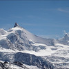 Zinalrothorn 4221m. and Ober Gabelhorn 4063m. (Wallis 2005  Zinal)
