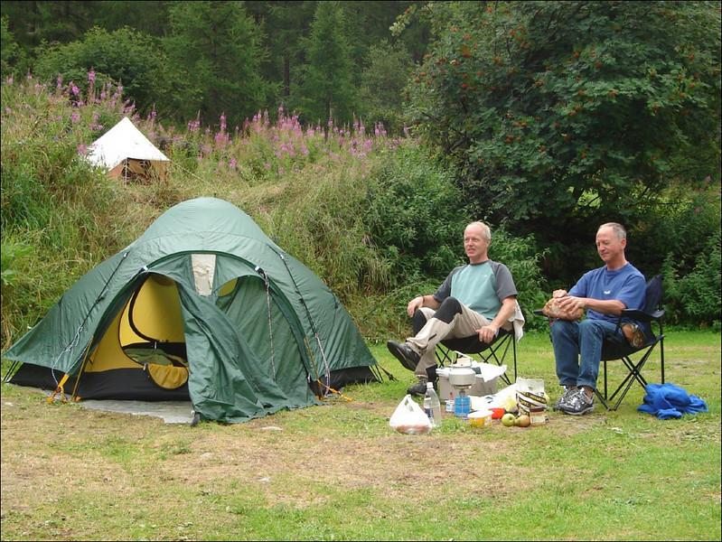 Camping Zinal  18/19-8-2005 (Wallis 2005  Zinal)