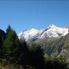 Zinal 1675m. - Cabane de Tracuit 3256m. Brunegghorn-Bishorn-Weishorn (Wallis 2005  Zinal)