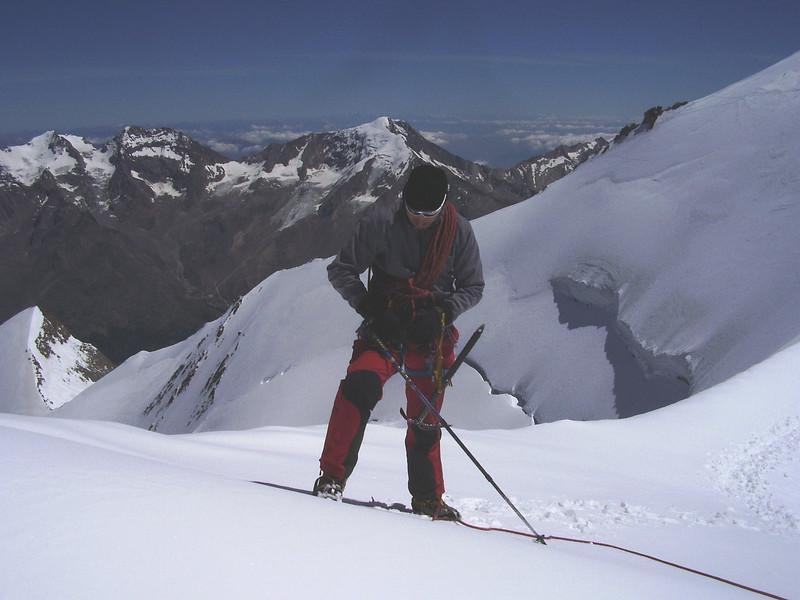 ascent Stecknadelhorn