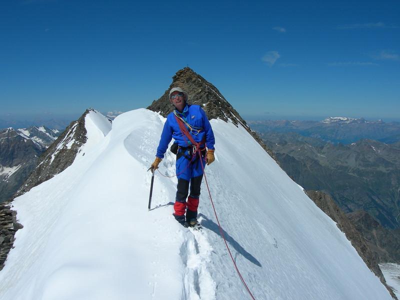 ascent Stecknadelhorn (with Rogier)