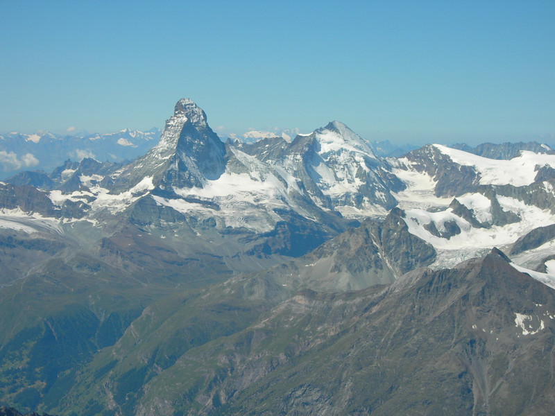 Matterhorn and Dent Blanche
