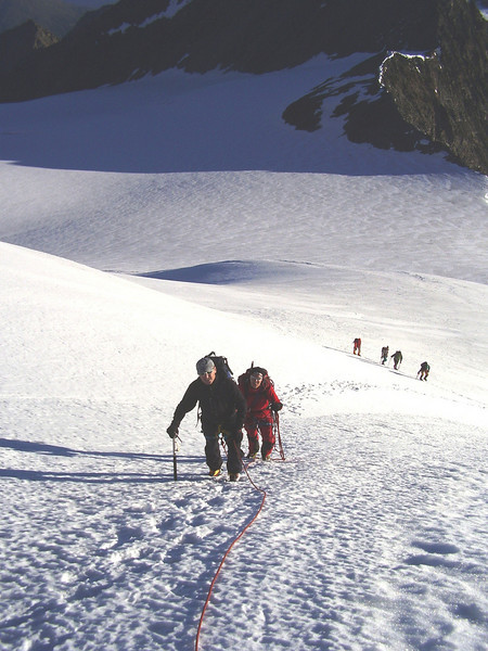 ascent to the Ulrichshorn