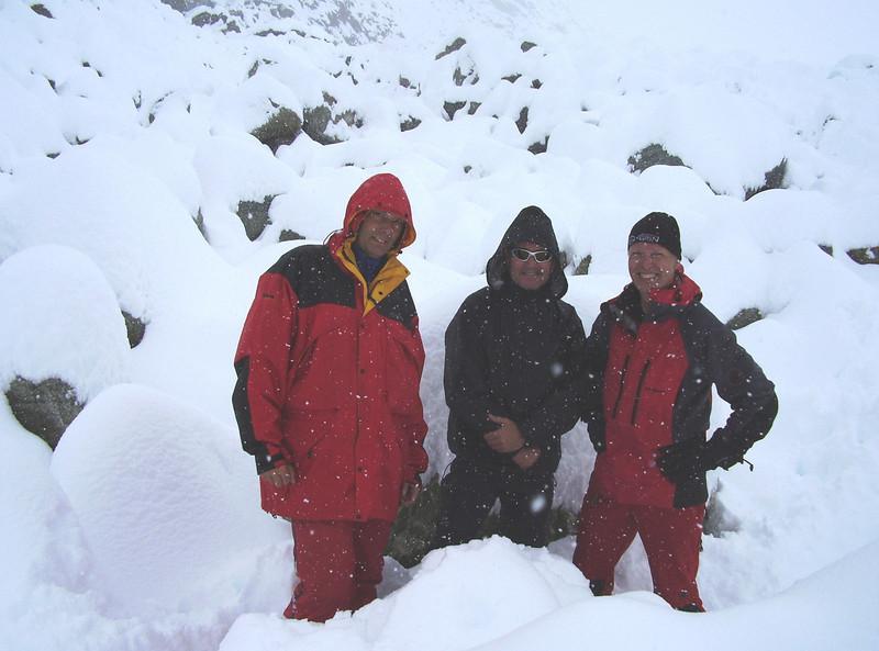 Glacier de Cheilon (team with Rogier, Paul and Marijn)