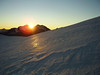 sunrise (Riedglacier with Gemshorn 3548m.)