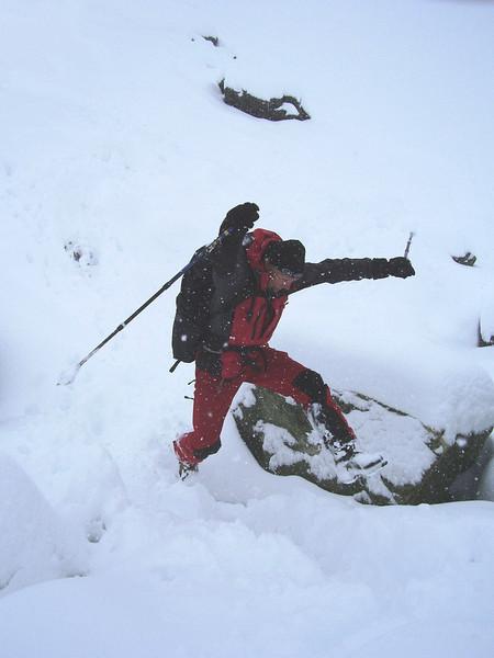 snow-playing (Glacier de Cheilon)