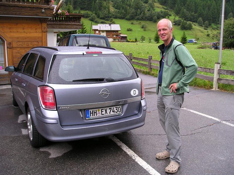 Our Rental Car (Tasch Mattertal Swiss)