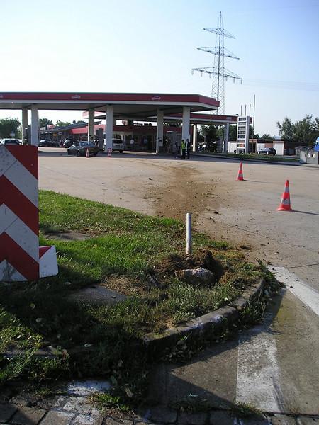 Gasstation Peppenhoven West autobahn 61