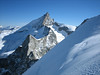 Zinalrothorn 4221m.and Wellenkuppe 3903m. (view)