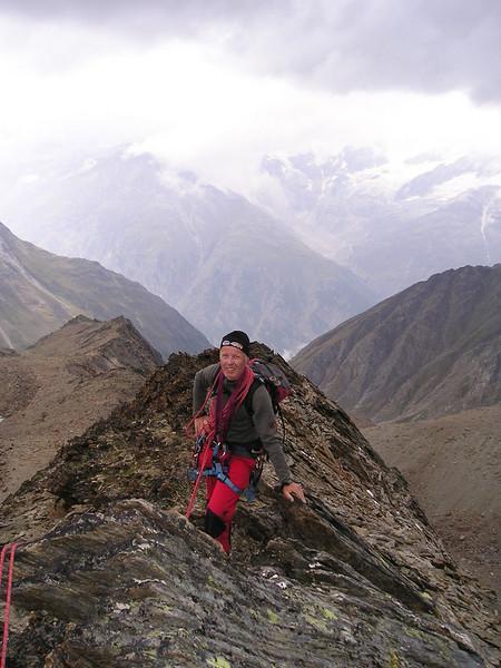 West- or Rotgrat of the Alphubel (ascent of the Alphubel via the rotgrad)