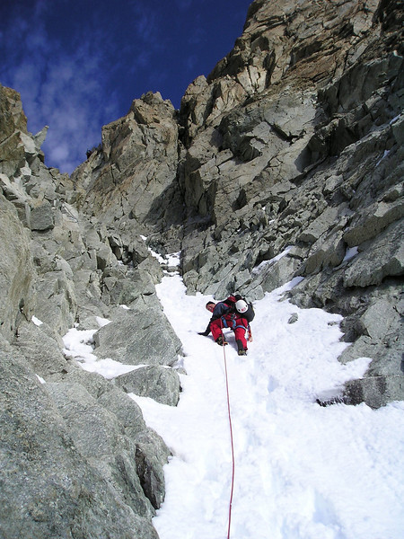 ascent Zinalrothorn 4221m.