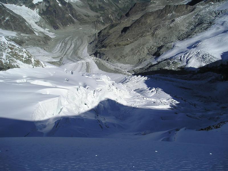 Glacier del  Obergabelhorn (view)