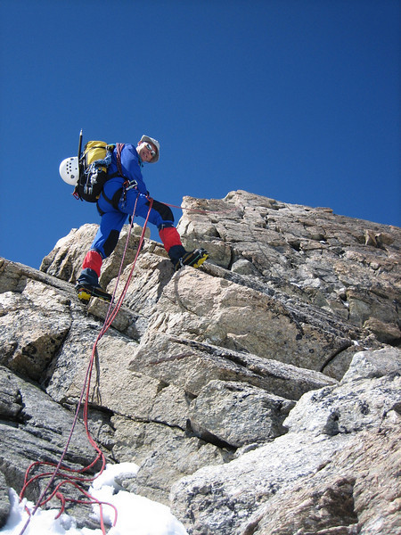 descent Wellenkuppe 3903m