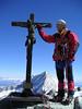 crucifix Zinalrothorn 4221m. (Rogier)