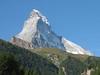 The Matterhorn 4478m. the home-mountain of Zermatt, our next goal (Zermatt 1672m. Wallis 2009, Switzerland)
