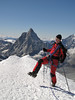 :-) (Breithornmassif, Wallis 2009 Switzerland/Italy                               )