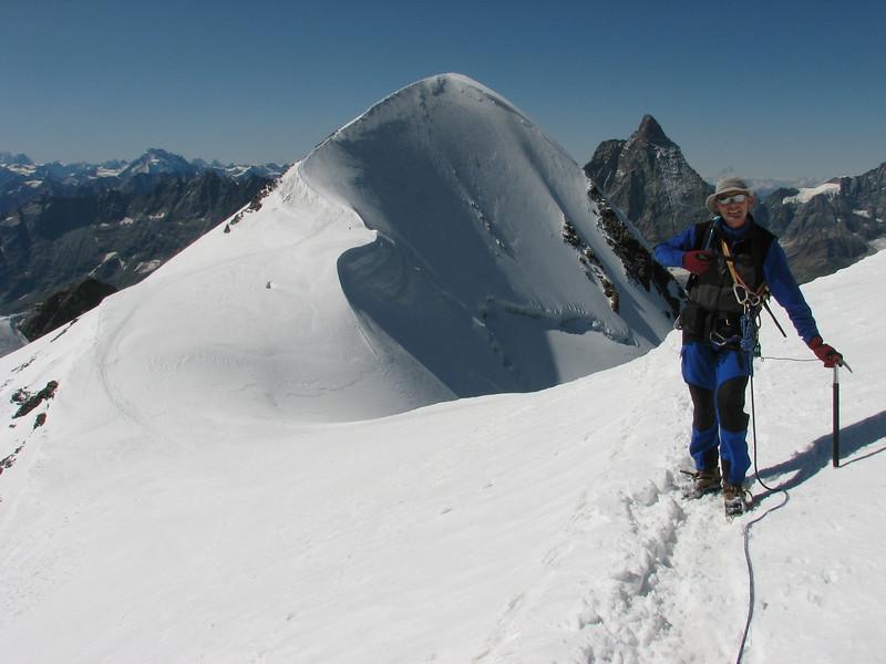 E-W Breithorn traverse (Breithornmassif, Wallis 2009 Switzerland/Italy)