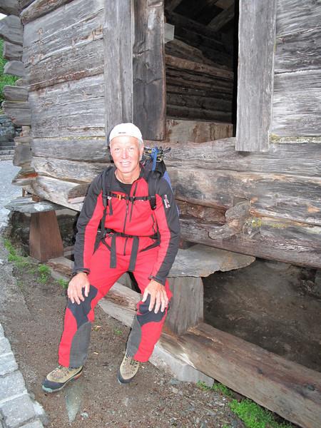 """""""Mausenplatte"""" in Zermatt (Schönbielhorn 3472m. Wallis 2009 Switzerland                               )"""