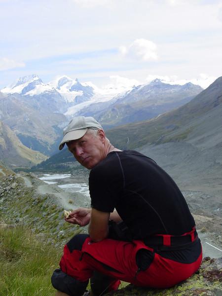 weather change (Schönbielhorn 3472m. Wallis 2009 Switzerland)