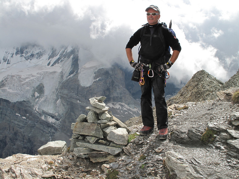 P. 3209m. (Schönbielhorn 3472m. Wallis 2009 Switzerland                                )