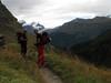 route Schönbielhütte SAC 2684m. - Zermatt 1672m. (Schönbielhorn 3472m. Wallis 2009 Switzerland                                )