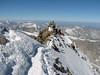 crest of the summit ( Matterhorn 4478m. Wallis 2009, Switzerland)