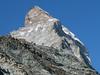 Hörnli hut 3260m. and Matterhorn 4478m. ( Matterhorn 4478m. Wallis 2009, Switzerland)