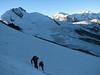 Alphubel glacier - Alphubeljoch 3773m. (Alphubel, 4206m. Wallis 2009 Switzerland)