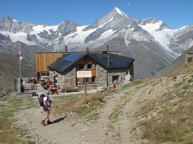 The Täschhütte SAC 2701m. (Alphubel, 4206m. Wallis 2009 Switzerland)