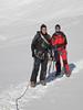 it's cold on the glacier: G. de Ghiacciaio di Verra, Italy (Breithornmassif, Wallis 2009 Switzerland/Italy)