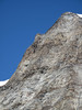 'Rotgrat' on the West side of the Alphubel, the main-problem last year (Alphubel, 4206m. Wallis 2009 Switzerland                                  )