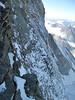 view on the North Face of the Matterhorn ( Matterhorn 4478m. Wallis 2009, Switzerland                                )