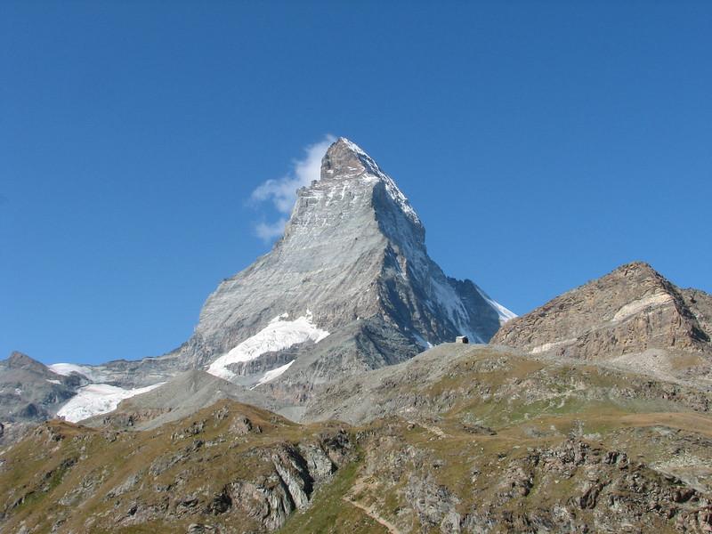 the Matterhorn 4478m. ( Matterhorn 4478m. Wallis 2009, Switzerland)