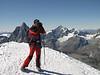 take a panorama-picture (Breithornmassif, Wallis 2009 Switzerland/Italy                                )