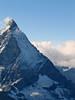 Hornli-ridge, Matterhorn 4478m.