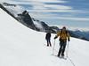 route Castor 4226m - Klein Matterhorn 3817m