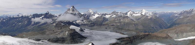 Walliser mountains