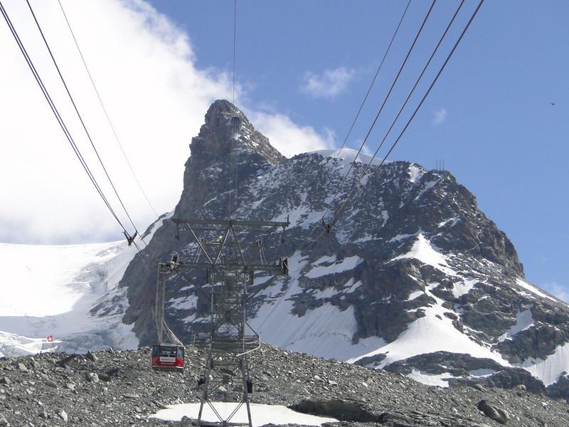 Klein Matterhorn 3817m