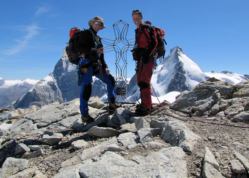summit Tête Blanche 3707m