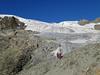 ascent the Stockjiglacier, route Schönbielhutte SAC 2694m - Cabane de la Dent Blanche CAS 3507m
