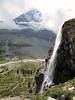 Zmuttbach waterfall, Zermatt 1650m - Schönbielhutte SAC 2694m.