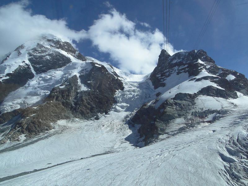 cable car Zermatt 1650m - Klein Matterhorn 3817m