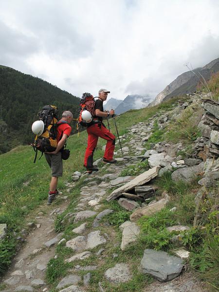 Zermatt - Schönbielhutte  SAC 2694m