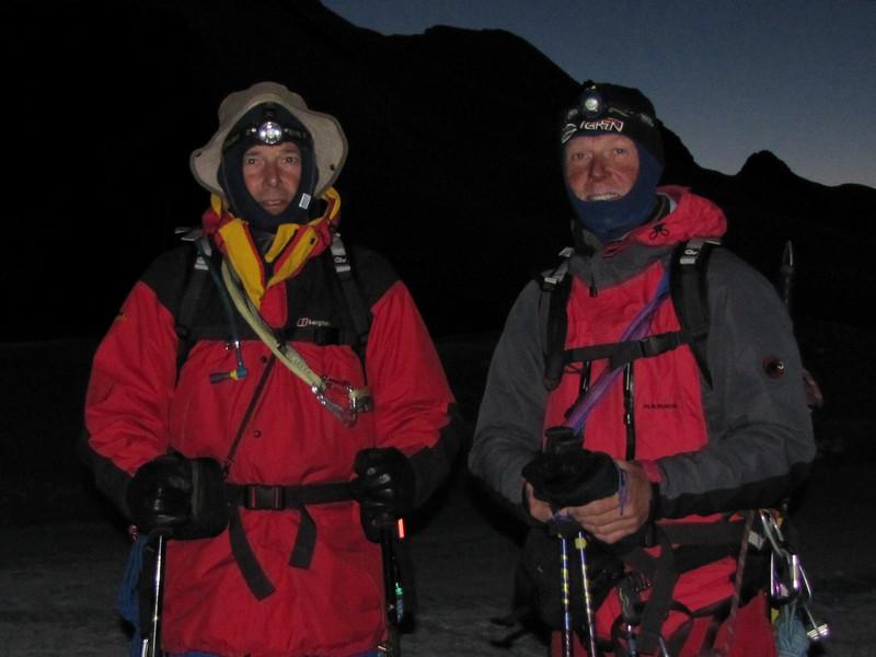 tour Klein Matterhorn 3817m - Castor 4226m